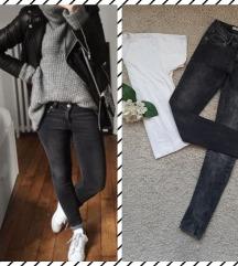 REZZPepe Jeans crnosivkaste odlične farmerke 😻