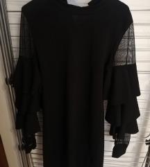 Crna haljina vel 38