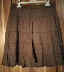 PIMKIE braon suknja