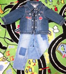 Cool Baby jakna i H&M farmerice - vel. 12-18m