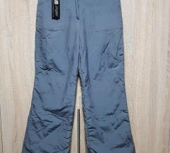 Sive ski pantalone