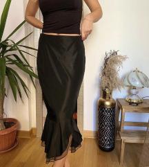 Crna retro suknja Luna