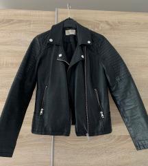 Crna kozna jakna Waikiki