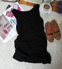 Calliope pamucna crna haljina sa dzepovima S/M