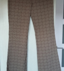 SNIŽENO! Karirane pantalone retro