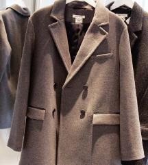ISABEL MARANT H&M sivi kaput