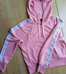 Nike original rozi duks sa kapuljacom S/M
