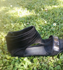 Crne antilop sandale