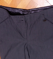 LUNA poslovno elegantne sive pantalone
