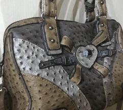 Kozna braon  torba