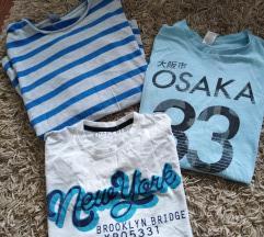 3 majice vel 14