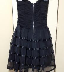 Rezz Crna top haljinica