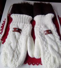 Bele rukavice P. S. Fashion