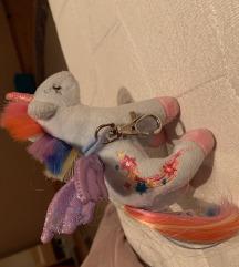 Unicorn privezak za kljuceve