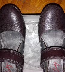 Braon kozne italijanske cipele Miss 60 original