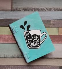 But first coffee kutijica u obliku knjige