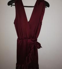 Nova burgundy haljinica