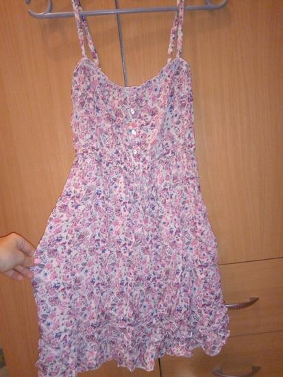 Letnja cvetna haljinica S