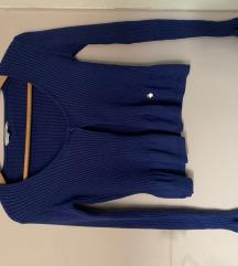 Plavi džemper bolero XS/S