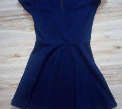 Plava stradivarius haljina 500
