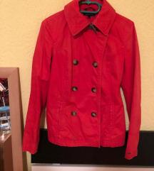 Kratak crveni kaput Tommy Hilfiger ORIGINAL