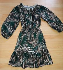 Kratka haljina sa dugim rukavima