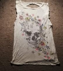 Skull print majica