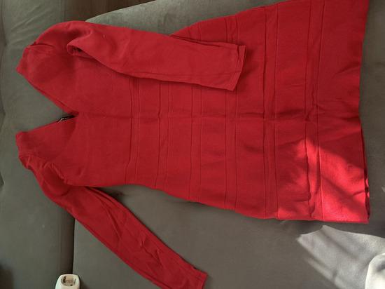 Mango crvena haljina M
