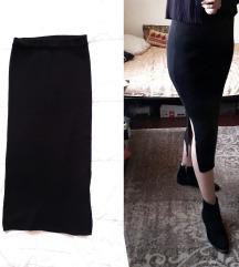 Knit uska suknja (100% devicanska vuna)Rezz