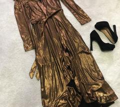 Svecana haljina + poklon crne stikle