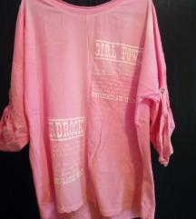Prelepa majica pink boje NOVA