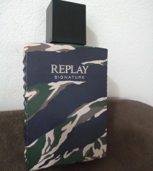 Replay Signature 100ml edt  for man