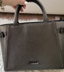 Mona sivo srebrna torba SNIZENO 4590