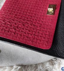 POPUST💓Country Leather italijanska kozna torba💓