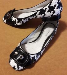GEOX Respira kozne pletene cipele nove