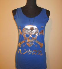 Lepa Letnja Majica Plave Boje na bretele