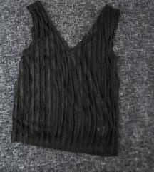 Reserved crna fringe bluza, vel. S