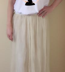 kontatto suknja od tila M