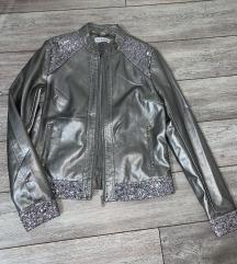 Kozna jakna nenosena-novo