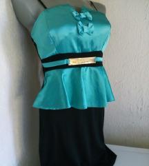 Fashion zeleno crna sa masnicama S