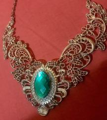 Ogrlica u boji zlata