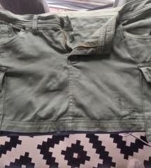 Mini Cargo suknja sa džepovima