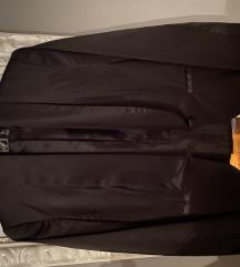 Zara crni satenski sako