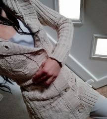 Džemper jakna nude boje