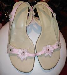 Orlandini bebi roze sandalice