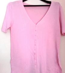 Letnja roze bluzica vel.42