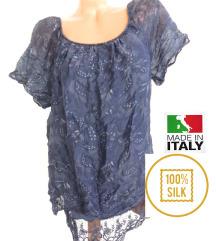 svilena kosulja XL iz Italije