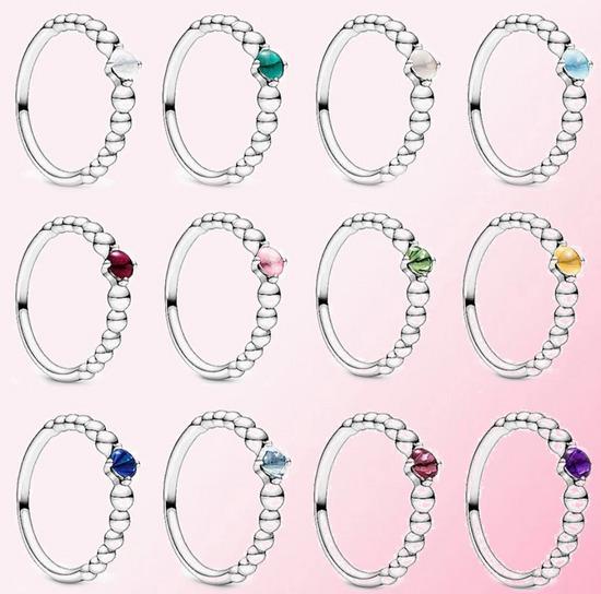 Pandora prstenje i privesci sa perlicama