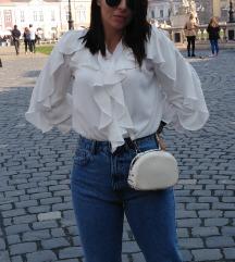 Bela bluza like Zara M