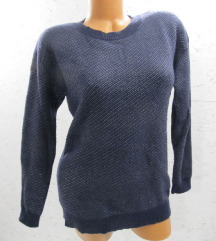 EBELIEVE teget svetlucavi džemper vel. S / M